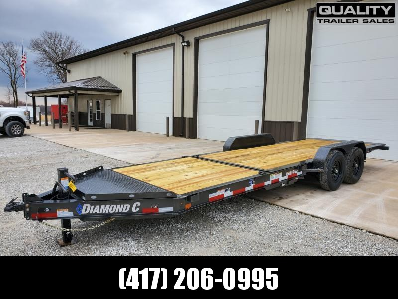 Used - 2020 Diamond C Trailers HDT Equipment Trailer 22x82 14K