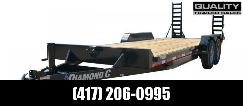 2020 Diamond C Trailers EQT Equipment Trailer 24X82 14K