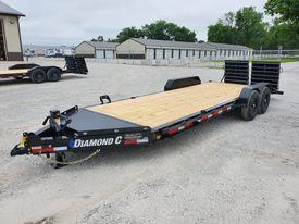 2021 Diamond C Trailers LPX207 Equipment Trailer 22x82