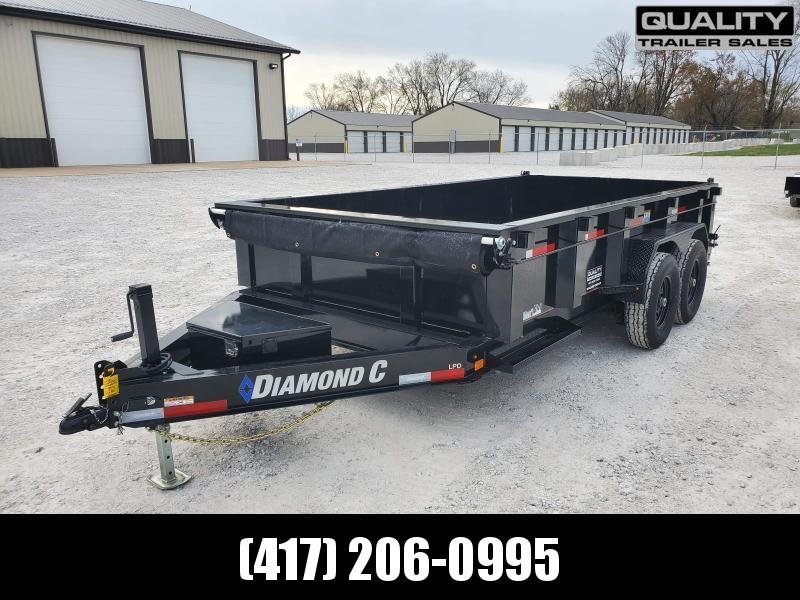 2021 Diamond C Trailers LPD207 Dump Trailer 14.9K 14X82