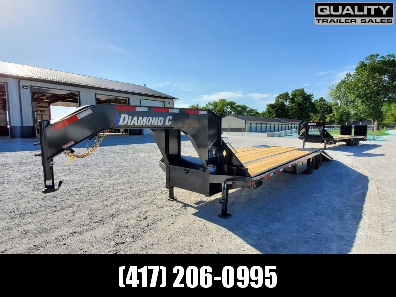 2020 Diamond C Trailers FMAX210 Flatbed Trailer 32x102