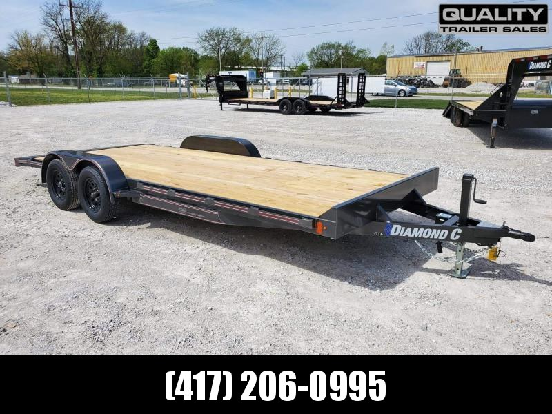 2021 Diamond C Trailers GTF Car / Racing Trailer 20X83 7K