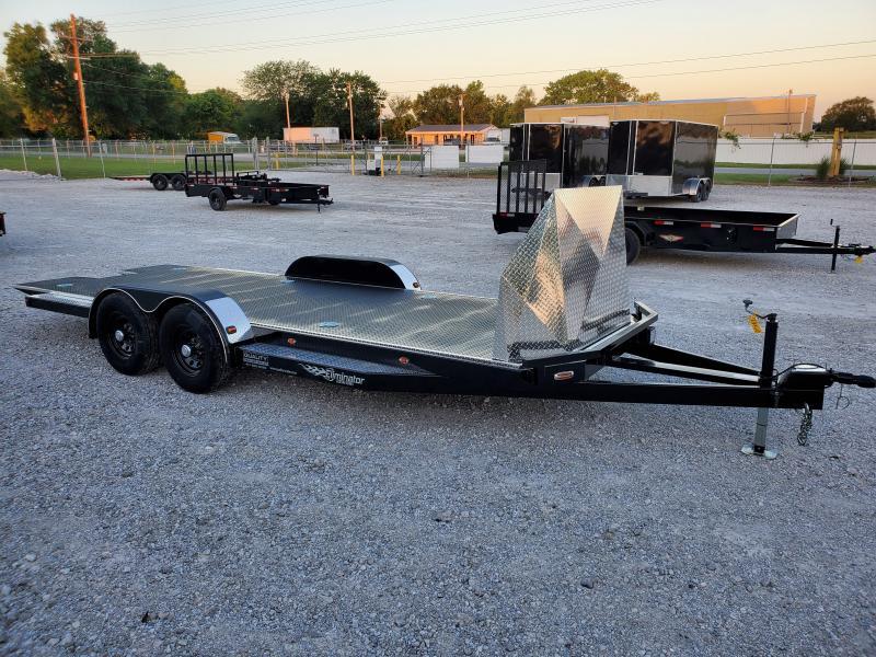 2021 102 Ironworks Eliminator 20' Car / Racing Trailer 10K