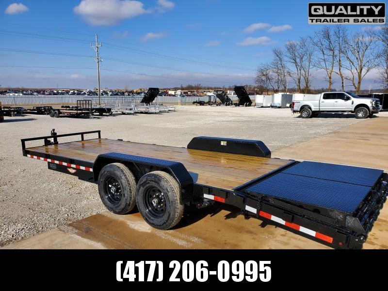 2020 H and H Trailer 82x18+4 IL SUPER DELUXE 14K Equipment Trailer