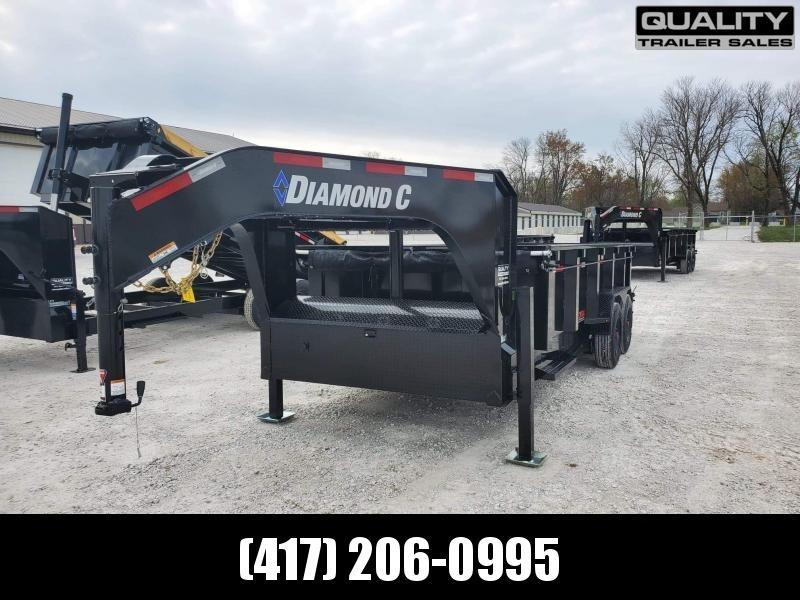 2021 Diamond C Trailers LPT208 Dump Trailer 18K 16X81