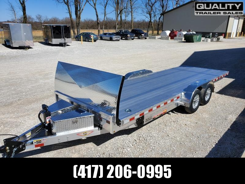 2020 H and H Trailer 82x22 ELEC. SPEEDLOADER ALUM 10K