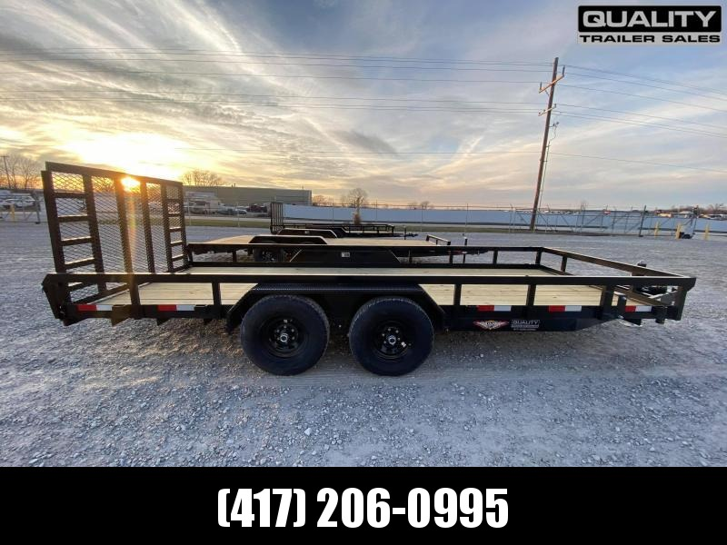 2021 H and H Trailer 82X18 HEAVY TRS 10K