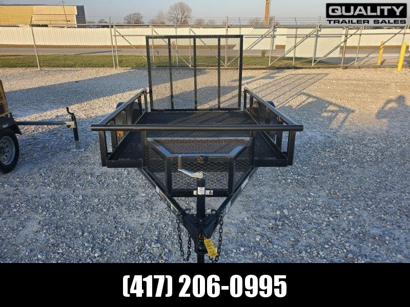 2018 Carry-On 66x9 STL RAIL SIDE SINGLE 3K Utility Trailer