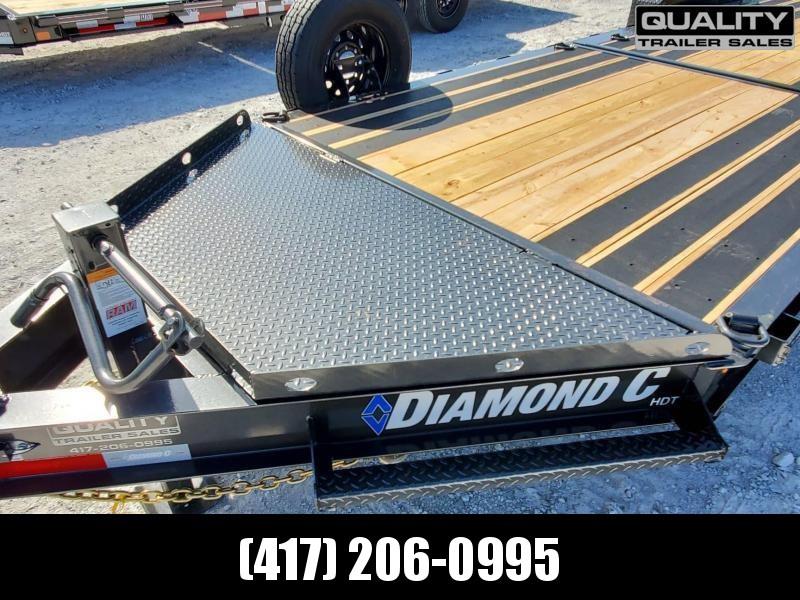 2020 Diamond C Trailers HDT Equipment Trailer w/ Dampened Tilt 24x82 14K