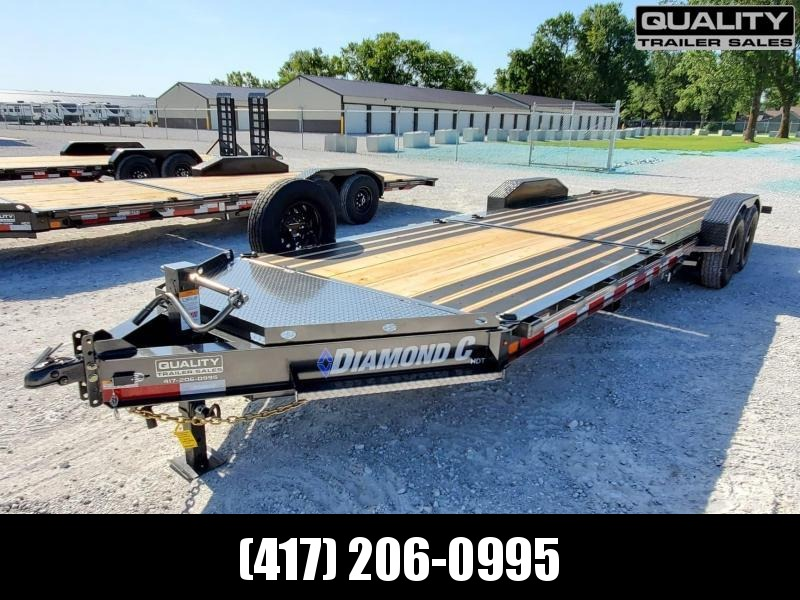 2020 Diamond C Trailers HDT Equipment Trailer w/ Dampened Tilt 24x82 14K