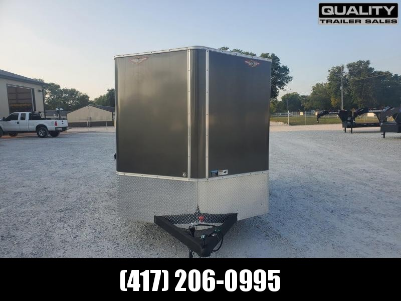 """2020 H and H Trailer 7X14 TANDEM 7K CARGO w/ 6'6"""" Height"""