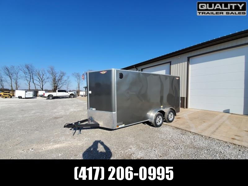"2020 H and H Trailer 7X14 TANDEM 7K CARGO w/ 6'6"" Height"