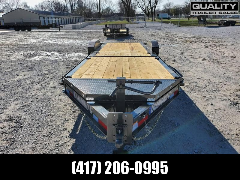 2021 Diamond C Trailers HDT Equipment Trailer 24x80 16K