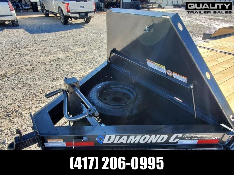 2021 Diamond C Trailers HDT Equipment Trailer 24x80 16K