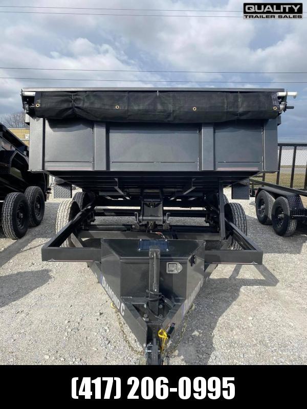 2021 Diamond C Trailers EDM Dump Trailer 12x82 10K