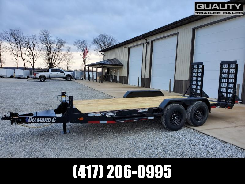 2020 Diamond C Trailers EQT Equipment Trailer 18x82 14K
