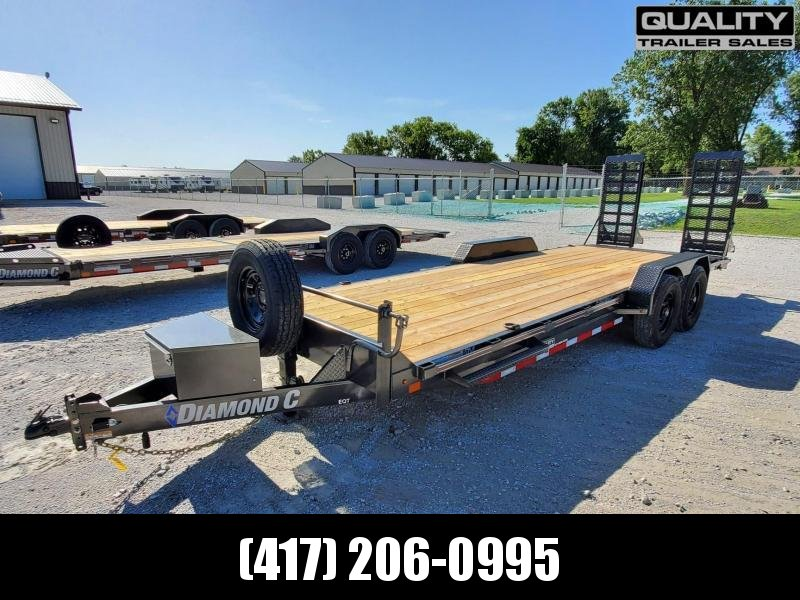 2020 Diamond C Trailers EQT Equipment Trailer 22x82 14K