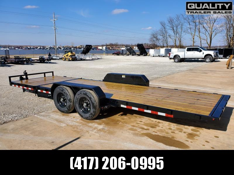 2020 H and H Trailer H18+6GTL-140 Equipment Trailer 14K