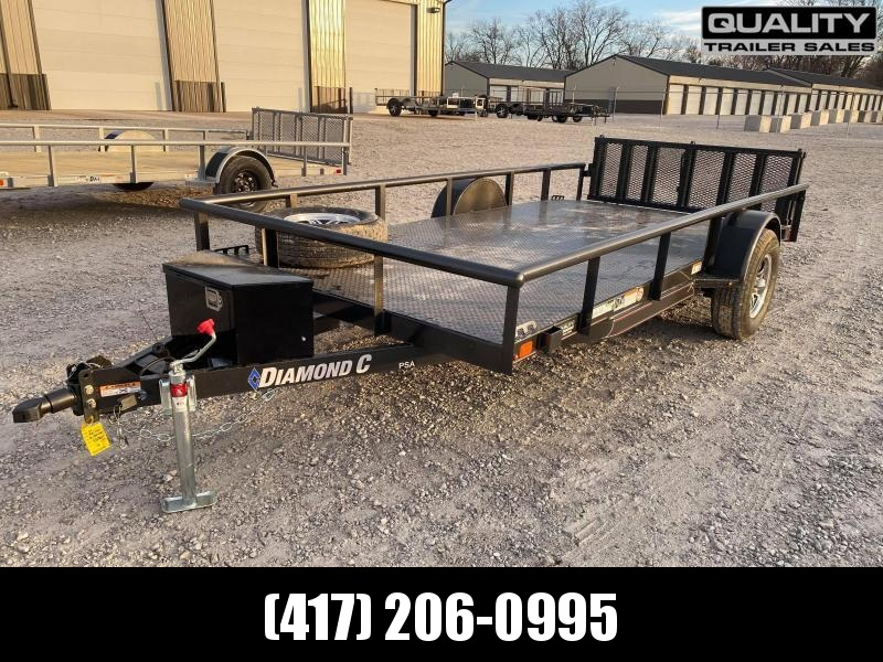 2021 Diamond C Trailers PSA Utility Trailer 14X77 5K w/Brake