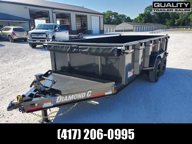 2020 Diamond C Trailers LPD Dump Trailer 14X82 14K