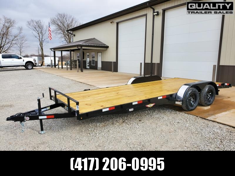 2020 H and H Trailer 82X18+2 GENERAL DUTY 7K DOVE
