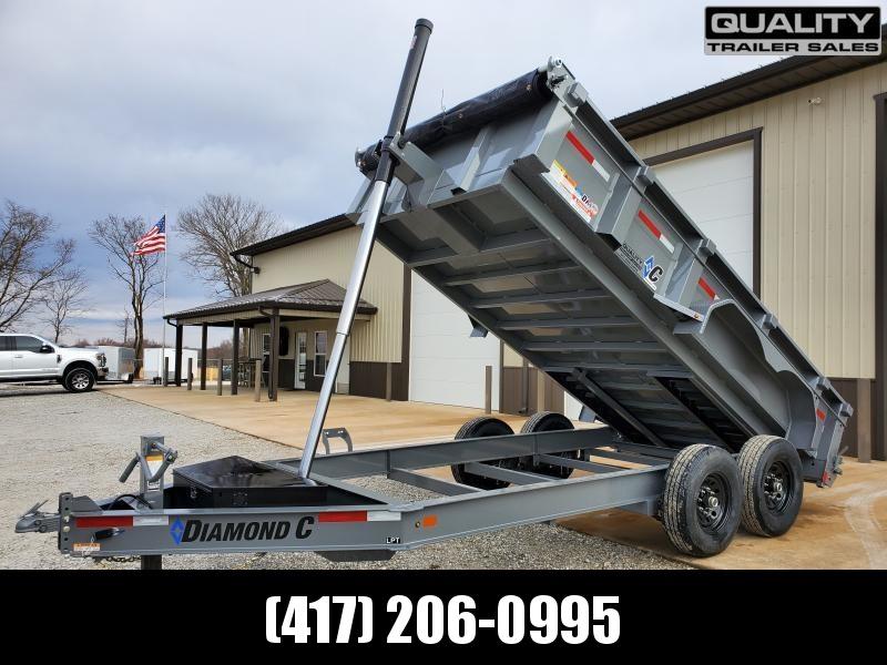 2020 Diamond C Trailers LPT 14x82 Dump Trailer 14k