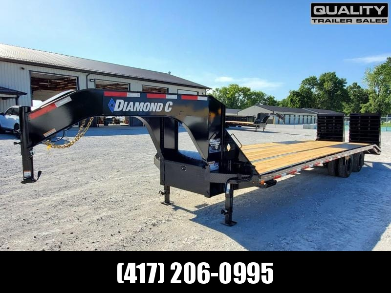 2020 Diamond C Trailers FMAX210 Flatbed Trailer 30x102