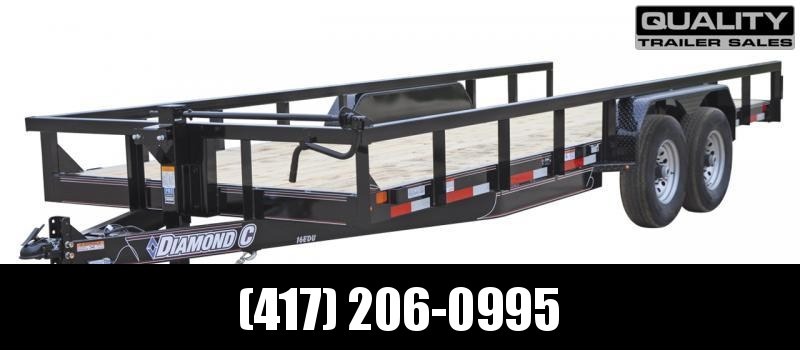 2021 Diamond C Trailers EDU Utility Trailer 14k 22x82