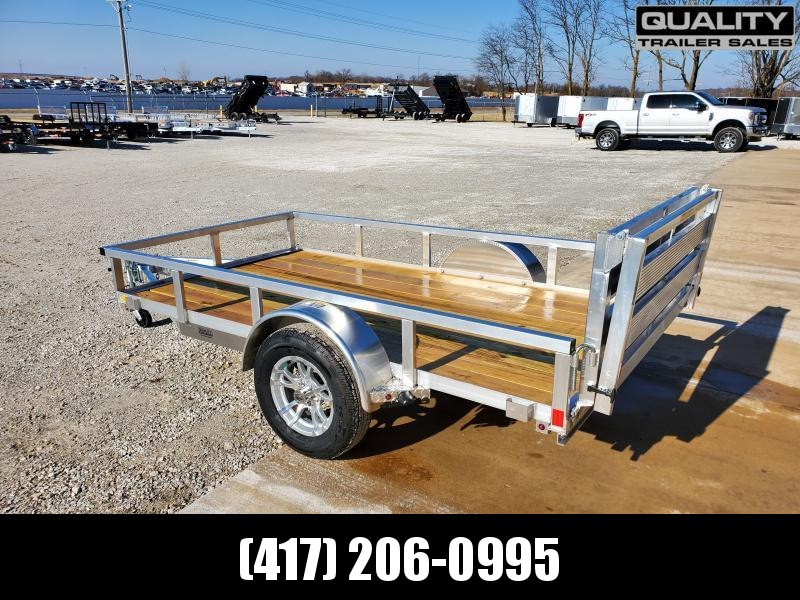 2020 H and H Trailer 5.5(66)x10 RAILSIDE ALUM 3K