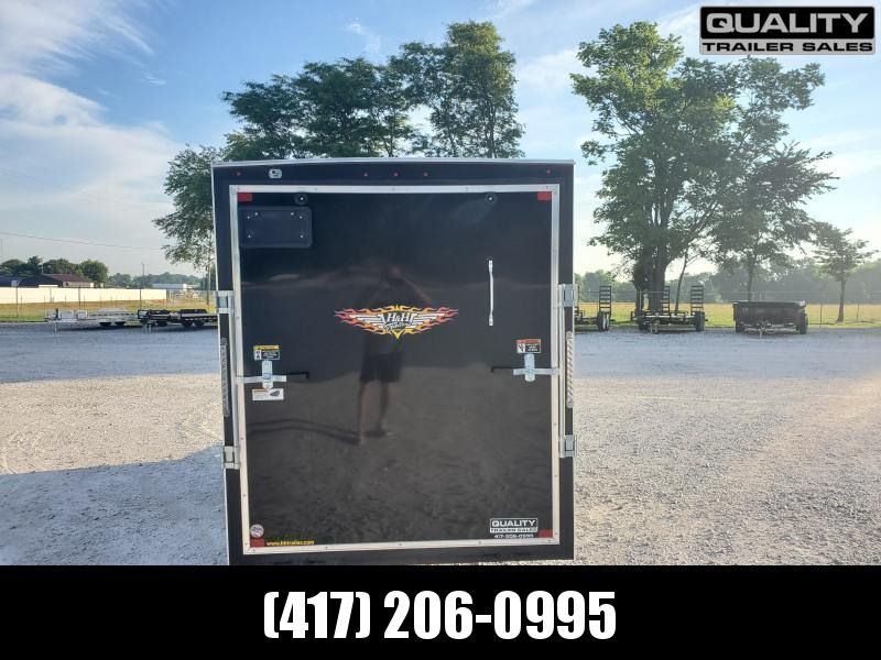 2020 H and H Trailer 6X12 SINGLE FLAT TOP HH VNOSE 3.5K CARGO
