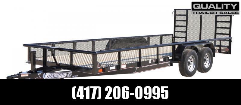 2020 Diamond C Trailers TUT Utility Trailer 18X82 10K