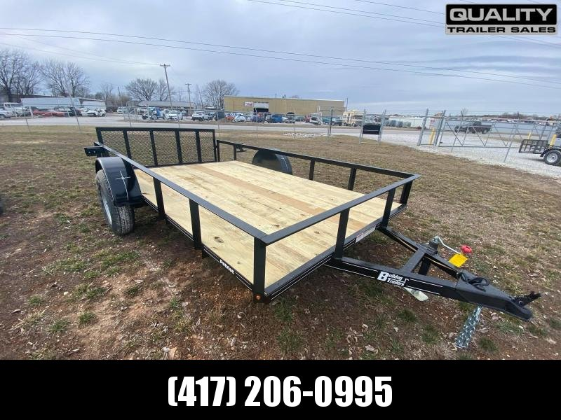 2021 Bulldog Patriot 6.5x12 Utility Trailer 3.5k