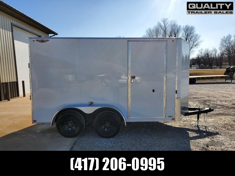 "2020 H and H Trailer 7X12 TANDEM 7K CARGO w/ 6'6"" Height"