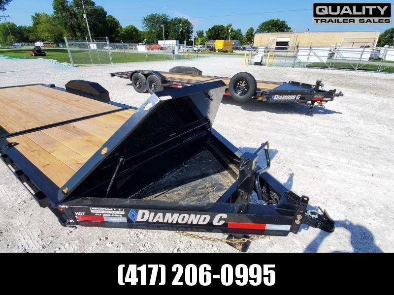 2020 Diamond C Trailers HDT Equipment Trailer 22x82 Dampened Tilt