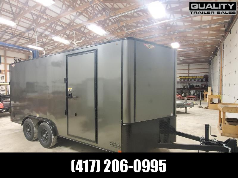 2020 H and H Trailer 8X16 TANDEM FLAT TOP HH VN 10K CARGO