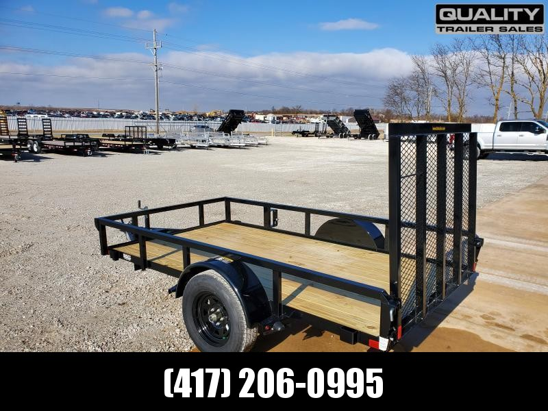2020 H and H Trailer 66X10 STEEL RAIL SIDE 3.5K