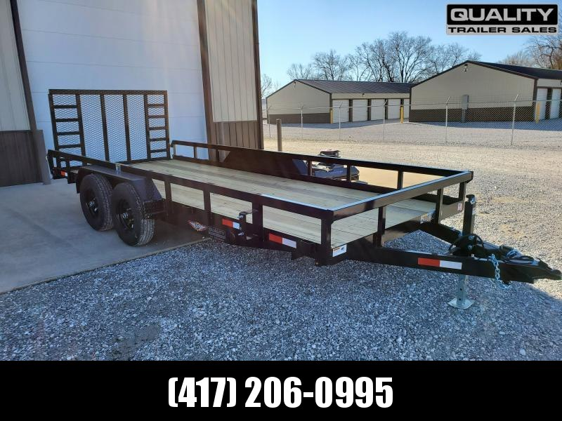 2020 H and H Trailer 82X18 HEAVY TRS 10K