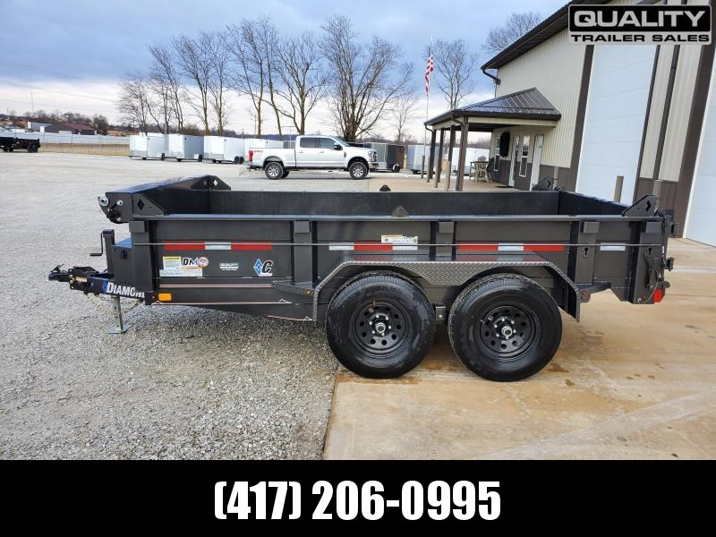 2020 Diamond C Trailers EDM252L 12x77 Medium Duty Dump Trailer 10K