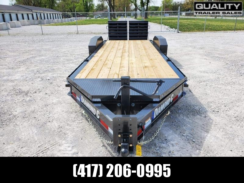 2021 Diamond C Trailers LPX Equipment Trailer 18k 22X80 w/ Max Ramps