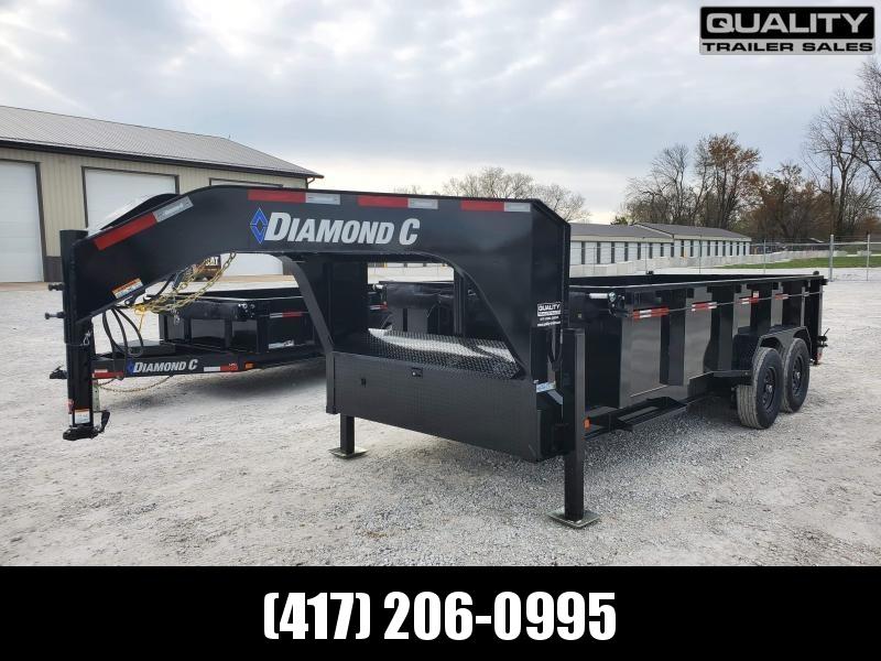 2021 Diamond C Trailers LPT207 Dump Trailer 14.9K 16X82