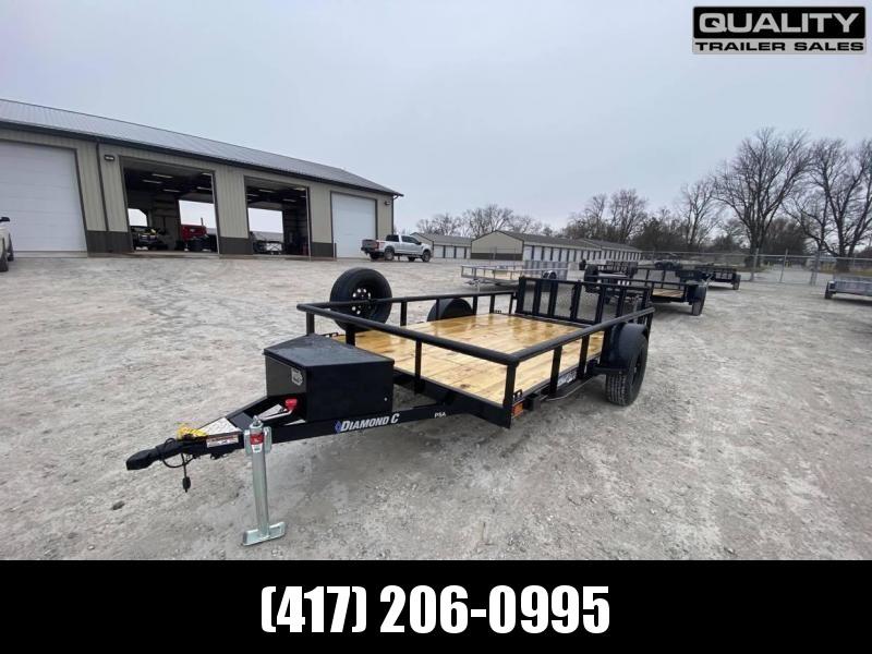 2021 Diamond C Trailers PSA Utility Trailer 12X77 3.5K