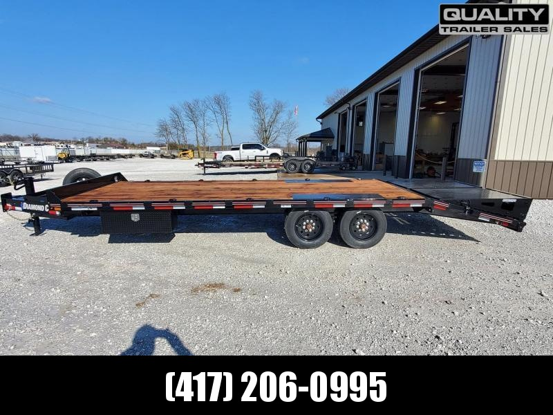 2021 Diamond C Trailers DEC Equipment Trailer  24x102  16K