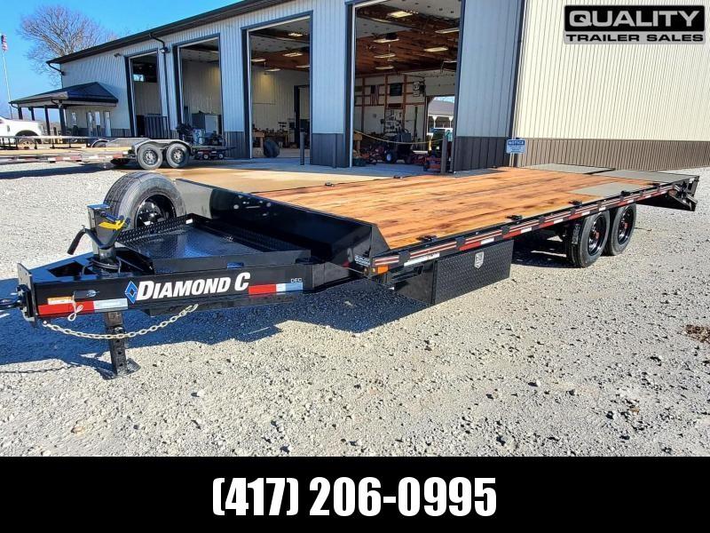 2021 Diamond C Trailers DEC Equipment Trailer  24x102  16K