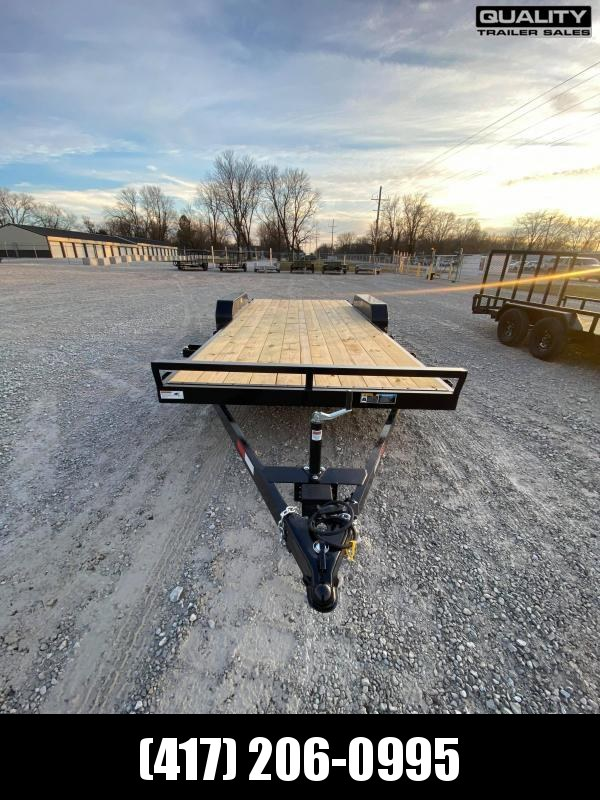 2021 H and H Trailer 82X18+2 GENERAL DUTY 7K DOVE