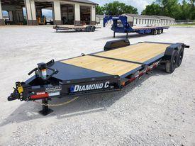 2021 Diamond C Trailers HDT Equipment Trailer 20x82 14K