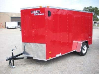 2020 Look Trailers EWLC6X12TE2 Flat Top Enclosed Cargo Trailer
