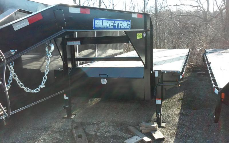 2019 Sure-Trac 8.5 x 24 FT Standard Duty Flatbed Deckov