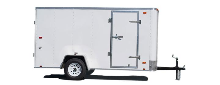 2020 Look Trailers STLC6X10SE2DLX Enclosed Cargo Trailer
