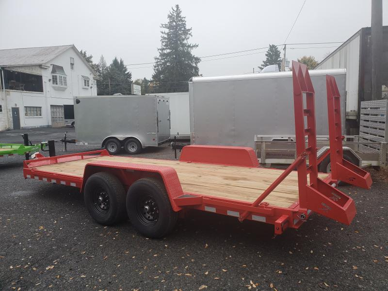 2021 Bri-Mar EH18-14-HD Equipment Trailer