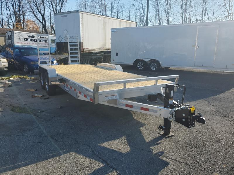 2021 Sure-Trac 7 X 20 ALUMINUM 14K Equipment Trailer
